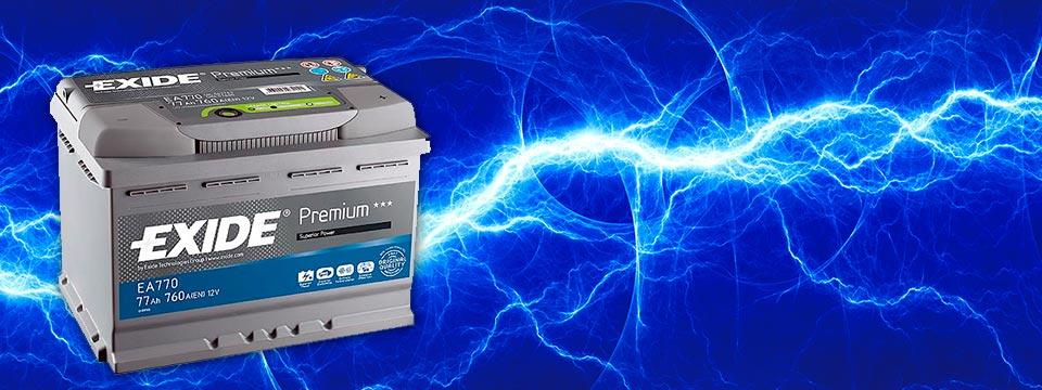 Akumulatory EXIDE/CENTRA