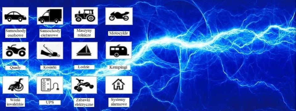 Akumulatory innych marek do różnych zastosowań