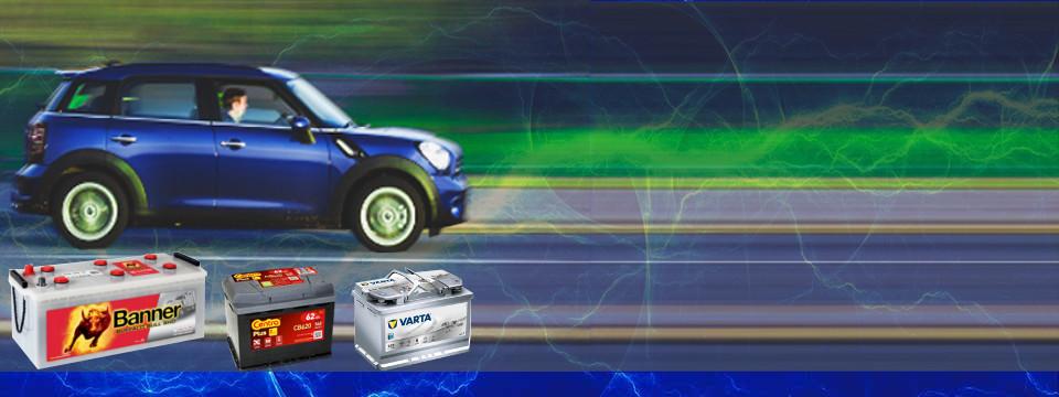 Akumulatory do pojazdów osobowych, ciężarowych i rolniczych
